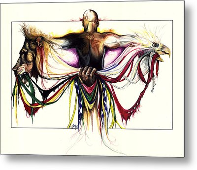 Identity Crisis Metal Print by Anthony Burks Sr