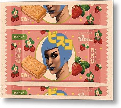 Idoru Sweets Metal Print