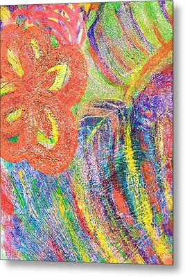 If Colors Were Sounds  Metal Print by Anne-Elizabeth Whiteway