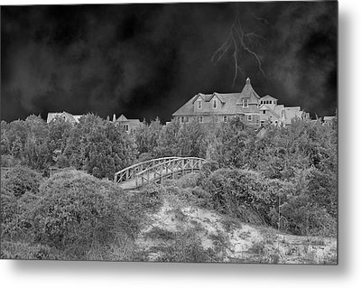 If The Thunder Don't Get You Metal Print by Betsy Knapp