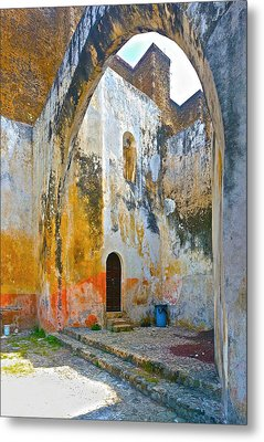 If These Walls Could Speak Metal Print by John Bartosik
