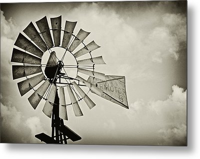 If Windmills Could Talk Metal Print by Tony Grider