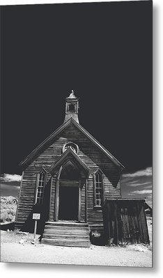If You Should Pass Through These Doors Metal Print
