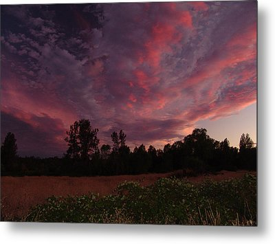 Igo Sunset Metal Print