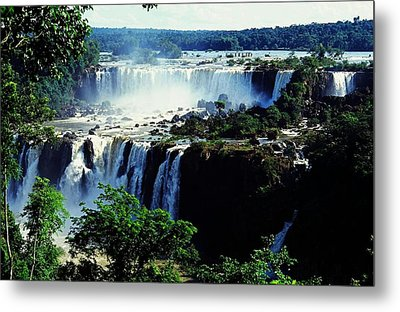 Iguacu Waterfalls Metal Print by Juergen Weiss
