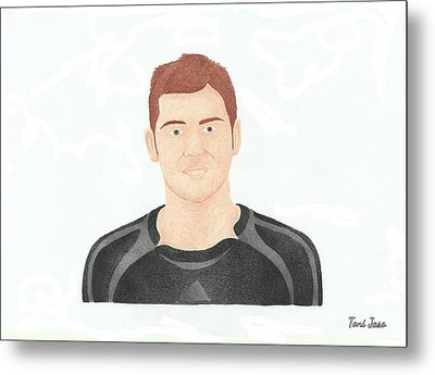 Iker Casillas  Metal Print by Toni Jaso