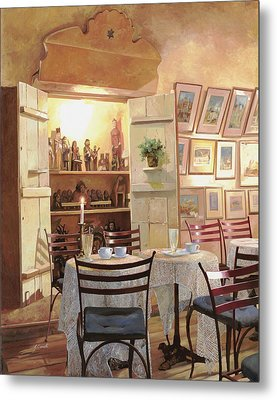 Il Caffe Dell'armadio Metal Print