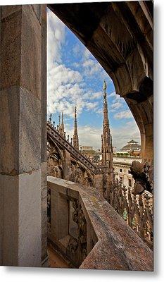 il Duomo di Milano 1 Metal Print