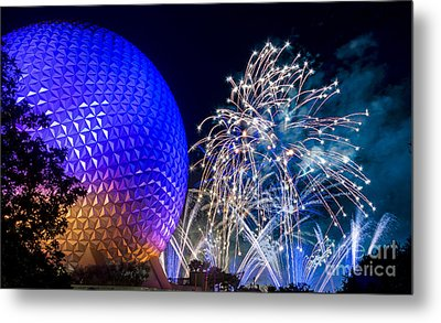 Illuminations Reflections Of Earth Metal Print