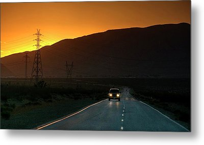 Metal Print featuring the photograph I'm Going Home Ten Years After by Peter Thoeny