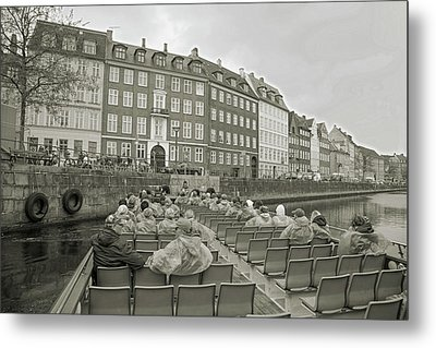 I'm Not A Tourist In Nyhavn Metal Print
