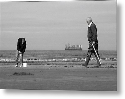 Im Off For Now Metal Print by Jez C Self