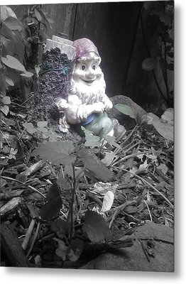 I'm So Gnomely Metal Print by Brynn Ditsche