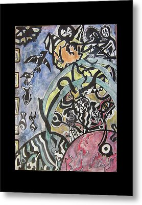 Images From The Collective Unconscious Metal Print by Mimulux patricia no No