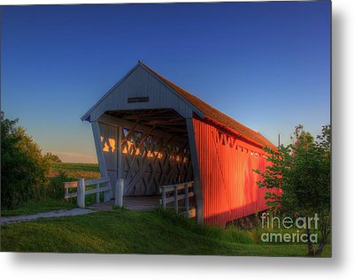 Imes Covered Bridge Metal Print by Thomas Danilovich