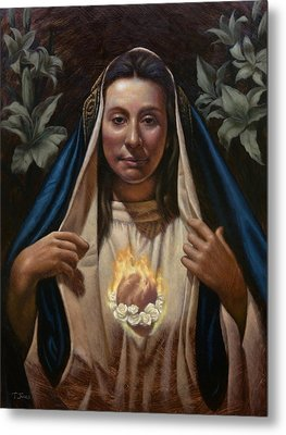 Immaculate Heart Metal Print by Timothy Jones