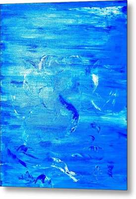 Metal Print featuring the painting Immersion by Piety Dsilva