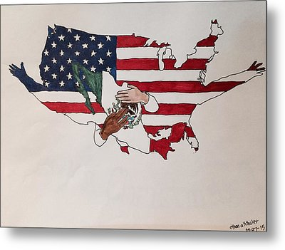Immigration Metal Print by Ethan Altshuler