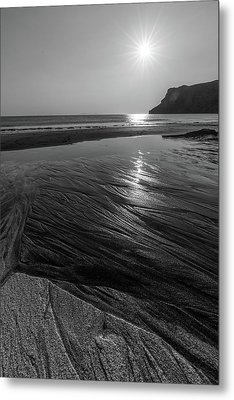 Metal Print featuring the photograph Impression From Talisker Beach by Davorin Mance