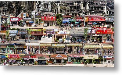 Tapestry Of Memories - Cambodia #1 Metal Print by Chas Hauxby