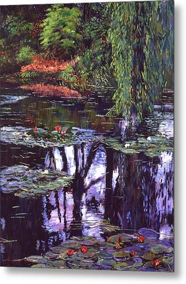 Impressions Of Giverny Metal Print by David Lloyd Glover