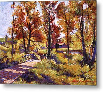 Impressions Of Southern France Metal Print by David Lloyd Glover