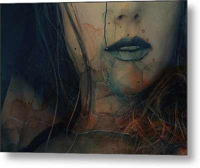 Metal Print featuring the mixed media In A Broken Dream  by Paul Lovering