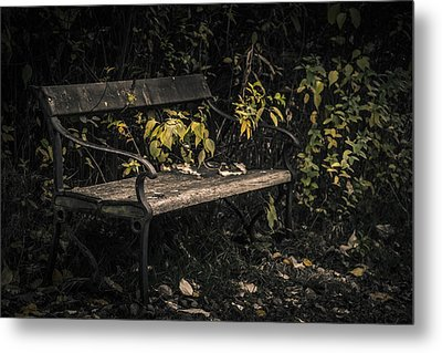 Metal Print featuring the photograph In A Forgotten Corner by Odd Jeppesen