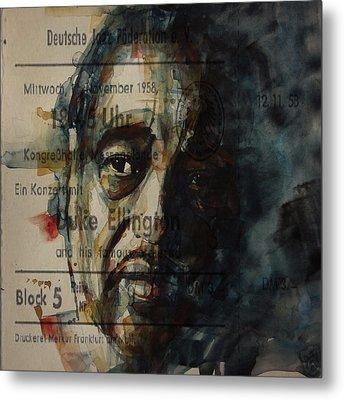 In A Sentimental Mood Duke Ellington Metal Print