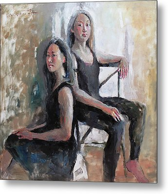 Daughters Of The Artist Metal Print by Becky Kim