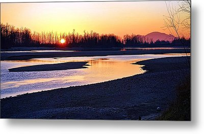 The Fraser River Metal Print by Heather Vopni