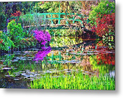 In Giverny Metal Print by Olivier Le Queinec