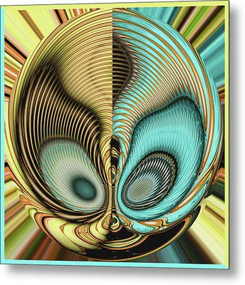 In My Head Metal Print by Wendy J St Christopher