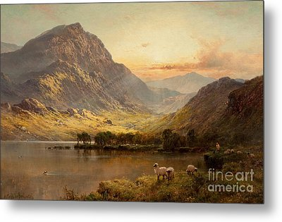 In North Wales Metal Print by Celestial Images