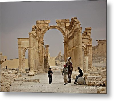 In Old Palmyra Metal Print by Cendrine Marrouat