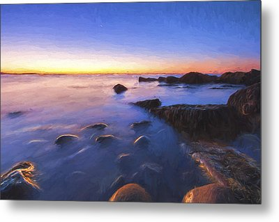 In Preparation For The Day II Metal Print by Jon Glaser