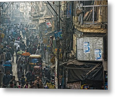 In Pursuit Of A Living Metal Print by Prateek Dubey