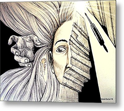 In Search Of The Soul Metal Print by Paulo Zerbato