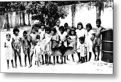 In The Amazon 1953 Metal Print by W E Loft