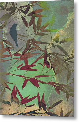In The Bamboo Forest Metal Print by AugenWerk Susann Serfezi