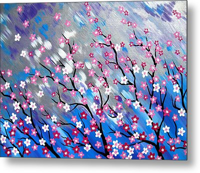 In The Breeze Metal Print by Cathy Jacobs