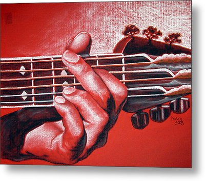 In The Chord Of G Metal Print by Patrick Parker