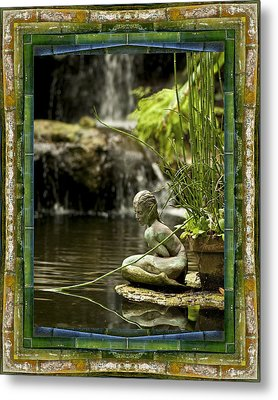In The Flow Metal Print by Bell And Todd