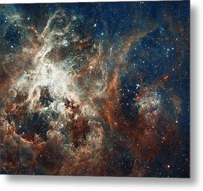 In The Heart Of The Tarantula Nebula Metal Print by Mark Kiver