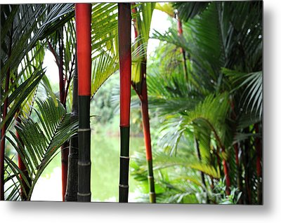 In The Jungle Metal Print by Jessica Rose
