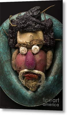 In The Manner Of Arcimboldo Metal Print by Warren Sarle