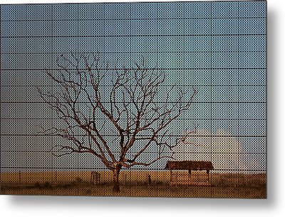 In The Middle Of Nowhere Metal Print by Andre Orms