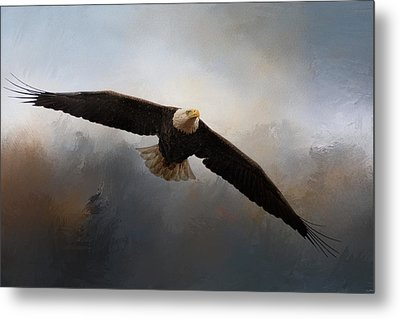 In The Midst Of The Storm Metal Print by Jai Johnson