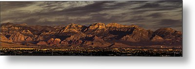 In The Morning Light Metal Print by Ed Clark
