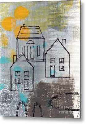 In The Neighborhood Metal Print by Linda Woods